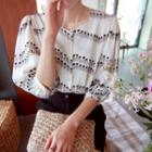 Pineapple Patterned Blouse
