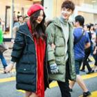 Couple Matching Hooded Padded Coat