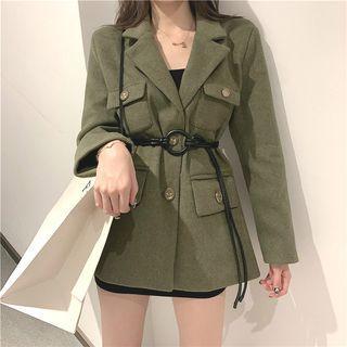 Plain Jacket / Belt
