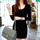 Sheath Knit Dress