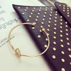 Rhinestone Arrow Ring / Bangle