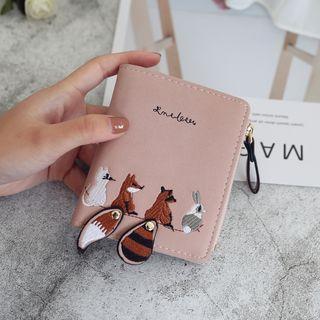 Applique Fox Short Wallet