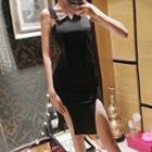 Jumper Mini Sheath Dress