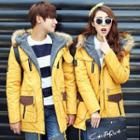 Couple Matching Hooded Parka