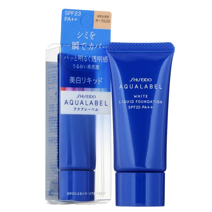 Shiseido - Aqualabel White Liquid Foundation Spf 23 Pa++ (natural Beige) 25g
