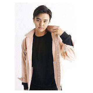 Flap-pocket Washed Jacket