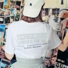 Brookwood Letter Print T-shirt
