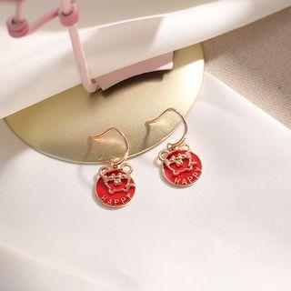 Sterling Silver Mouse Earrings  - Earring