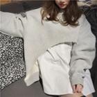 Crop Pullover / Plain Shirt