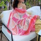 Printed Shawl Pink - One Size