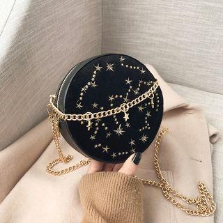Round Chain Crossbody Bag
