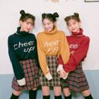Cheer Up! Turtleneck Colored Sweater