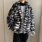 Furry Tiger Zip Jacket