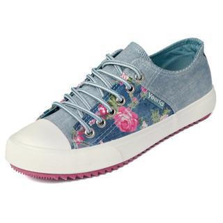 Floral Panel Sneakers