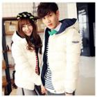 Couple Hooded Padded Jacket