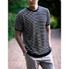 Striped Summer Knit T-shirt