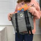 Buckled Check Cross Bag