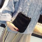Furry Mini Crossbody Bag