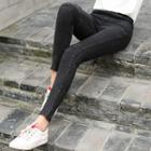 Sequined Skinny Jeans
