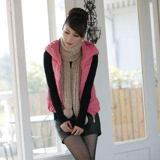 Padded Hooded Vest