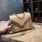 Studded Envelope Crossbody Bag