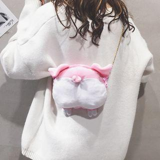 Chain Strap Animal Crossbody Bag As Shown In Figure - One Size