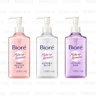 Kao - Biore Makeup Remover 230ml - 3 Types