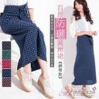 Convertible Tie-waist Dotted Skirt