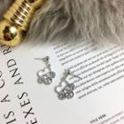 Hollow-out Statement Earring