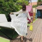 Lace Light Jacket White - One Size