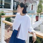 Loose-fit Bell-sleeve Top