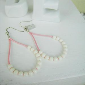 Fresh Bead Earrings(pink)
