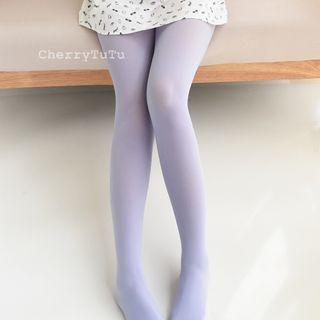 Plain Velvet Tights