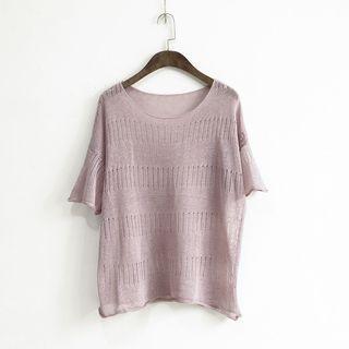 Knit Short Sleeve T-shirt