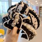 Faux Crystal Knot Headband