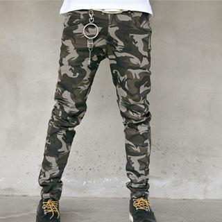 Camouflage Skinny Pants