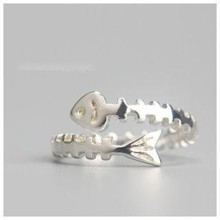Fishbone Ring