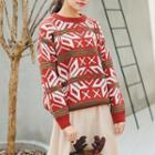 Snow Patterned Sweater