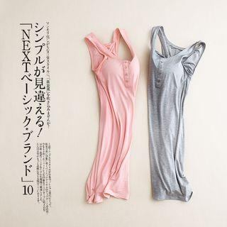 Padded Plain Tank Nightdress