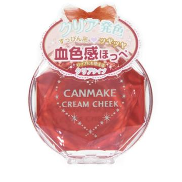 Canmake - Cream Cheek (#cl05 Clear Happiness) 1 Pc