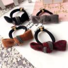 Fabric Bow Hair Tie