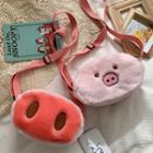 Plush Pig Crossbody Bag
