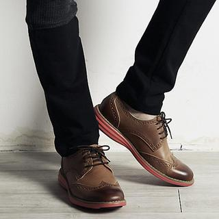 Wing-tip Oxfords