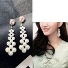 Bead-drop Embellished Earrings