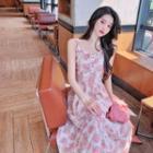 Knit Top / Floral Sleeveless Dress