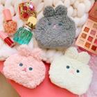 Furry Rabbit Makeup Pouch