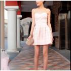 Strapless A-line Dress