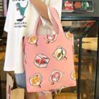 Nylon Printed Tote Bag