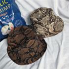 Snake Pattern Bucket Hat