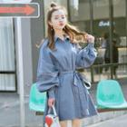 Balloon Long-sleeve Long Jacket
